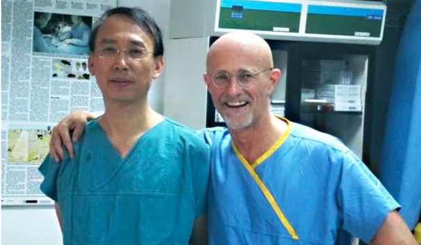 Canavero in China, head transplant