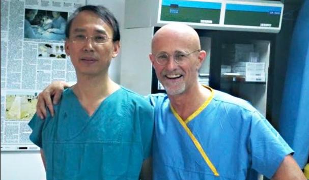 Canavero in China, head transplant