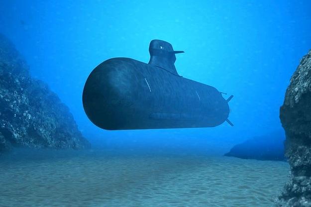 Submarine sinking