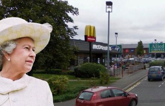 McDonald's near Buckingham Palace