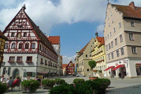 Nordlingen Germany city of diamonds