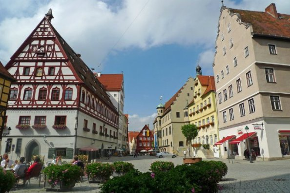 Nordlingen Germany city of diamonds