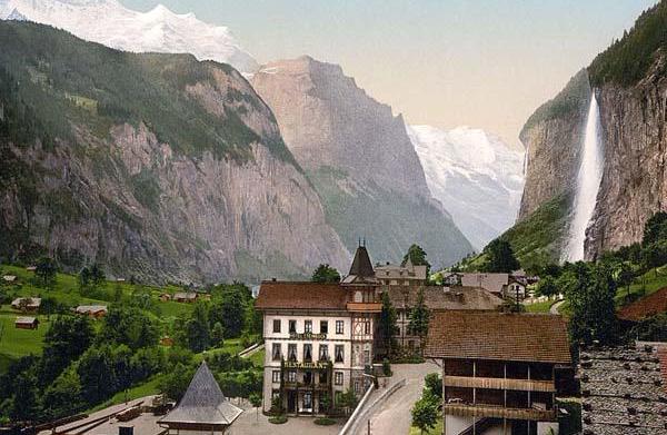 Lauterbrunnen Hill, Switzerland