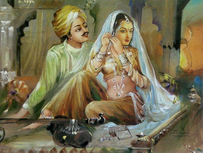 King Ratan Singh and Queen Padmavati
