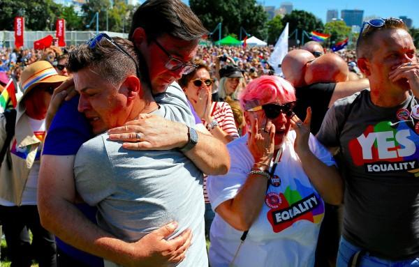 The Australiant parliament legalizes same-sex marriage