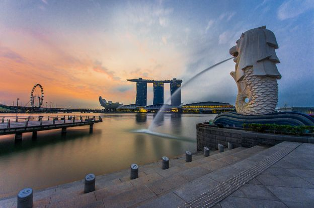 Republic of Singapore (Singapore), Located di Southeast Asia