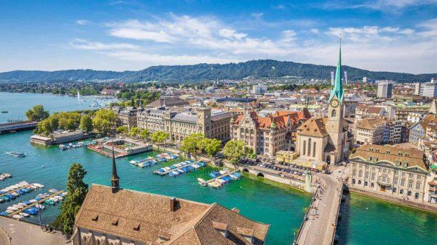Switzerland (Zurich), Located in Western Europe