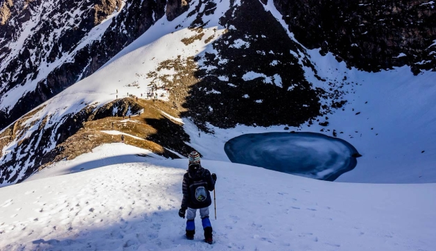 Roopkund, Skeletons lake