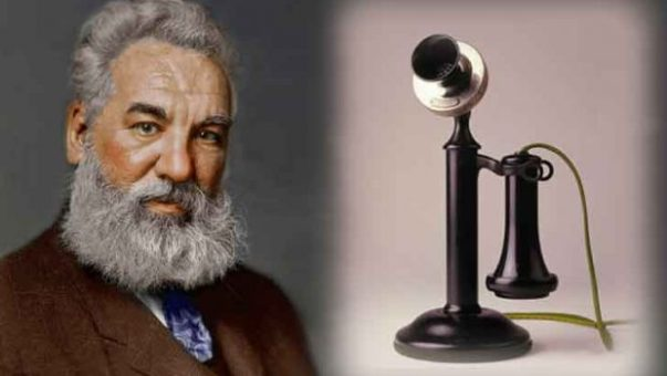 Scientist Alexander Graham Bell