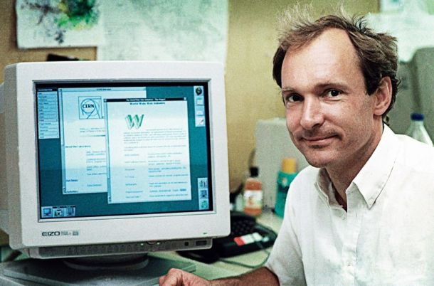 Scientist Tim Berners-Lee