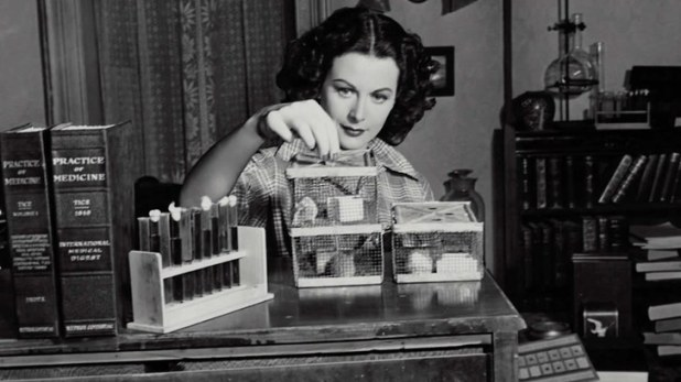 Scientists Hedy Lamarr
