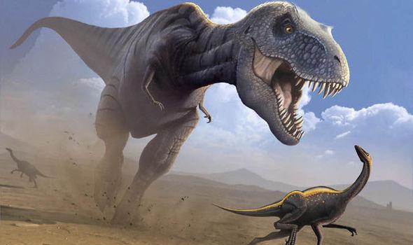 T-rex run fast