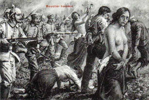 The Rape of Belgium