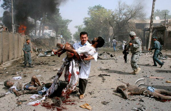 Are suicide attack aftermath what? Can
